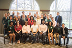 2018 Alumni Association Board of Directors with New Orleans Posse 1 Students by Illinois Wesleyan University, Alumni Association Board of Directors