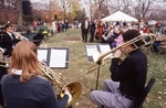 Student Musicians play at the Ground Breaking Ceremony