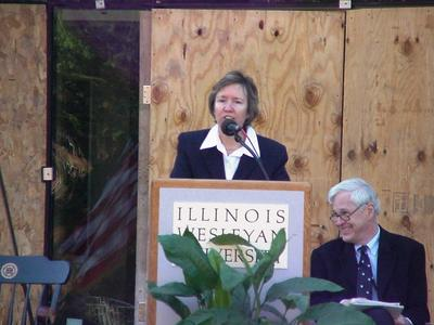 Provost and Dean of Faculty Janet McNew.