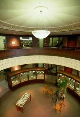 The John Wesley Powell Rotunda.