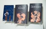 Book Jacket Design: The Iliad and Odyssey by Olivia Dunham, '13