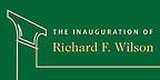 Inauguration of Richard F. Wilson