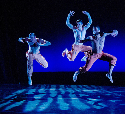 "Students from the School of Theatre Arts in the faculty choreographed dance concert, ""<em>Sins</em>""."