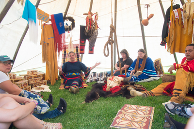 Tipi Teachings broaden cultural experience on campus.