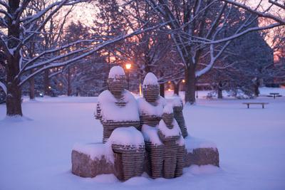 Snowy Figures