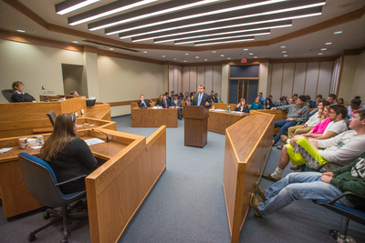 Mock Trial Helps Students Learn about the Law