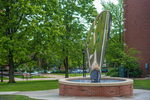 New Sculpture Adds Beauty to Campus Quadrangle