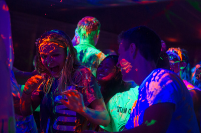 Blacklight and Neon Painting Party