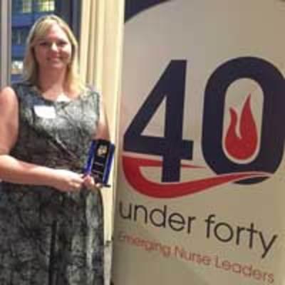 Eckhardt Receives Emerging Nurse Leader Award