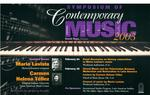 Symposium of Contemporary Music, 2003 by School of Music