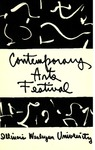 Contemporary Arts Festival Program, 1955