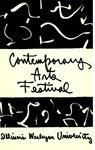 Contemporary Arts Festival Program, 1955