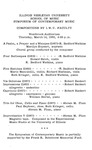 Symposium of Contemporary Music, 1968 by School of Music
