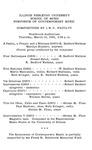 Symposium of Contemporary Music, 1968