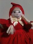 Russian: Красная Шапочка [Krasnaya Shapochka] Little Red Riding Hood