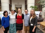 Professor Nadeau and students at the John Wesley Powell Undergraduate Research Conference by Illinois Wesleyan University