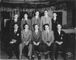 Ken Fahsbender and Phi Mu Alpha members in 1945