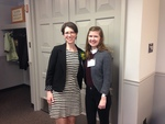 Alissa Miller and Abigail Kauerauf by Alissa Miller 2008; Abigail Kauerauf 2019; and Council for IWU Women, Illinois Wesleyan University