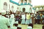 31. President of Zanzibar Inspects Dancers