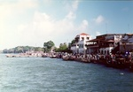 35. Spectators at Lamu Seafront