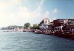 35. Spectators at Lamu Seafront