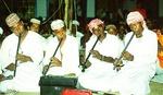43. Zamuni Dancers Accompanied by Nai by Rebecca Gearhart Mafazy
