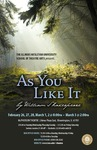 As You Like It by School of Theatre Arts